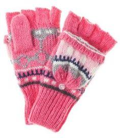 GAP Manoplas Shocking Pink guantes Shocking Pink manoplas Gap Noe.Moda