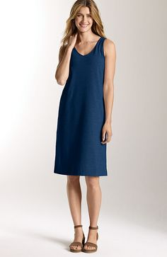 dresses  pima-stretch tank dress at J.Jill