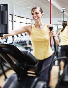 Cardio Workout: Elliptical Intervals Shrinking Recovery  - www.fitsugar.com
