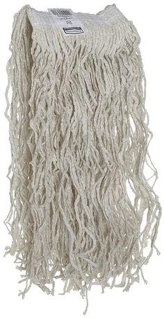Rubbermaid V11800WH00 Cotton Wet Mop Heads, #24