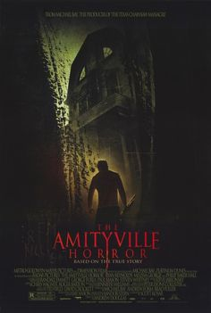 Amityville Horror Movie Poster.... I LOVE the original AND the remake!!!