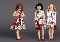 Love the colours! Dolce & Gabbana Children Summer Collection 2015