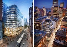 grimshaw has been selected to construct '333 george street', an 18-storey mixed-use building offering both office space and a host of retail outlets.
