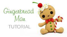 Gingerbread Man Topper Tutorial - YouTube