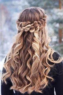Peinados De Fiesta Para Cabello Largo Y Chino By Queen 11 11 Peinados Faciles Peinados Con Trenzas Peinados Con Cabello Suelto Peinados Poco Cabello