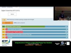 ISTE 2015 Workshop: Using Socrative and Kahoot to Quiz/Poll/Engage Your Students by Rob Zdrojewski - YouTube