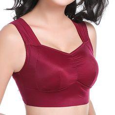 Comfortable Milk Silk Seamless Vest Bras Breathable No Rims Bra