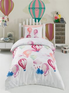 Lenjerie de Pat Single - Kapadokya Comforters, Blanket, Bed, Home, Quilts, Blankets, Stream Bed, House, Ad Home