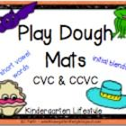 Playdough Learning Mats BUNDLE - 4 Sets in 1 BUNDLE *Alphabet *Numbers 1-20 *Dolch Words (pre-primer, primer, and first grade) *CVC, CCVC, and CVCC Words