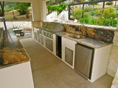 42 best Outdoor Kitchens images on Pinterest | Outdoor cooking ...