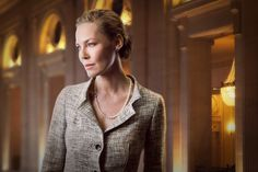Connie Nielsen as Meredith Kane, the Mayor of Chicago's wife in Starz's Boss