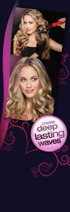 wrap to waves curling wand #curlingwands