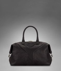 167b33b746a86 Check out Small YSL Easy Bag in Black Textured Leather at http   www