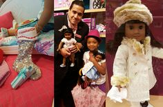 Go by American Girl Doll Place Houston Store and meet there newest staff member. He is a real life Opera Singer, Cesar Torruella. Check out his many Youtube Videos. The store is filled with the magic of the Holidays and so much more. @agofficial #joy2everygirl #americangirlbrand