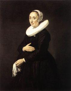 Woman3 Frans Hals -