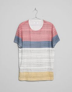 Textured coloured T-shirt - T-shirts - Bershka United Kingdom