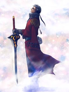 Residual Light by umino - Final Fantasy X - Auron