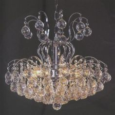 Tomia L 855-06-009 Royal Family Audrey 6-Light Crystal Chandelier