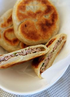 Savoury Pancakes by Almost Bourdain, via Flickr