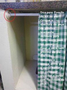 varão para cortina de pia de cozinha - Pesquisa Google