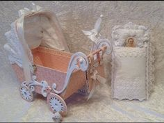 Sweet baby stroller with mini album inside - Blog tutorial. Pion Design ...