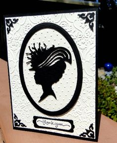 Silhouette Thank you card by jasonw1 - Cards and Paper Crafts at Splitcoaststampers