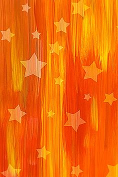 orange stars Colors ~ Orange and Yellow Orange Is The New Black, Orange Yellow, Orange Color, Orange Zest, Power Colors, Pantone, Falling Stars, Orange You Glad, Orange Background