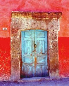 Puertas, San Miguel de Allende, Guanajuato, México   ..rh