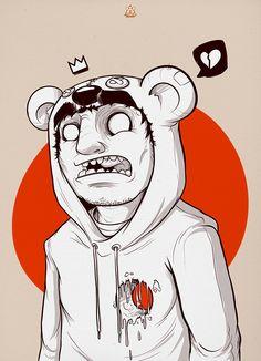 Illustration Bear Squad - Broken on Behance