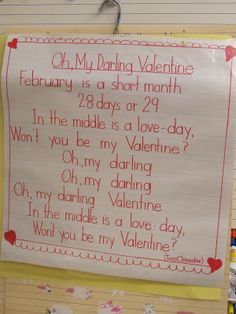 Valentines Poems and Songs