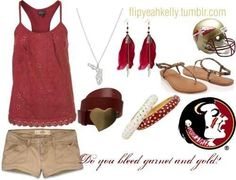 super popular 7cff0 eb056 Florida State University, Florida State Seminoles, Fsu Game, Dress Outfits,  Fashion Outfits