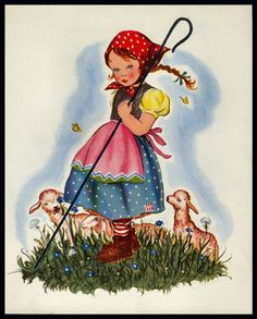 "1940 ""LITTLE BO-PEEP"" by PELAGIE DOANE"