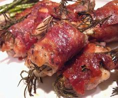 Stacey Snacks: Prosciutto Wrapped Chicken Thighs