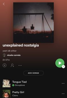 check out my playlists on spotify :) @/ncorreia11700 Music Mood, Mood Songs, Indie Music, Music Songs, New Music, Good Music, Playlists, Musica Love, Playlist Names Ideas