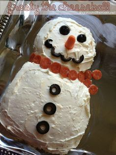 Frosty the Cheeseball {A Recipe} | Ring Around the Rosies