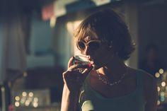 Le vin d'honneur, un moment où le photographe doit savoir être discret et capter de jolis instant.
