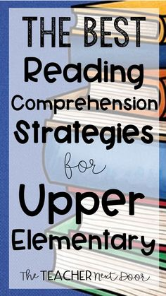 Want to help your upper elementary students increase their reading comprehension? This post describes six key reading comprehension strategies to help you plan effective lessons focused on core readin Reading Test, Third Grade Reading, Reading Intervention, Reading Skills, Guided Reading, Teaching Reading, Teaching Ideas, Teaching Vocabulary, Reading Response