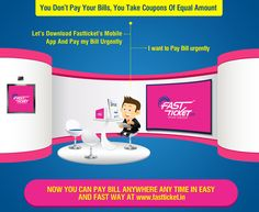 #Fastticket is making this #fast #paced world easier to manage with! #Pay all your #mobile #bills #online at: http://fastticket.in/mobile/paybill