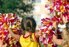 With a little effort and hard work, you can begin working on improving cheerleading jumps. Improving your cheerleading jumps means that you're not only . Cheerleading Chants, Cheer Stunts, Cheerleading Hair, Cheer Dance Routines, Cheer Practice, Cheer Camp, Cheer Coaches, Cheers And Chants, Football Cheerleaders