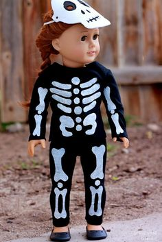 Ada's Skeleton Costume  DIY tutorial and patterns  FREE