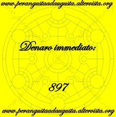 "Attivazione del Codice Sacro ""897 Denaro Immediato"" Augusta, Cogito Ergo Sum, Chaos Magic, Something To Remember, Angel Cards, Magic Circle, Oracle Cards, Mantra, Wicca"
