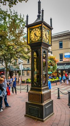 Gastown Steam Clock - Vancouver, BC, Canada