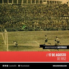 #IndependienteHistorico Clásico frente a Racing. Fué empate 1-1 con gol de Ernesto Grillo.  #Independiente
