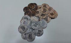 La Valuta dei Maghi Britannici Galeoni, Falci e Zellini