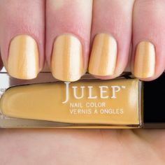 Nadia - Sun Kissed Golden Frost Nail Polish
