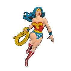 Imã de Geladeira Mulher Maravilha - DC Comics