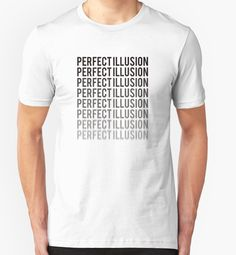 """#PerfectIllusion"" Lady Gaga T-Shirts & Hoodies by QUIRKYT 