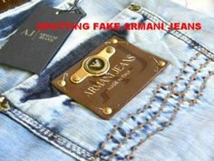 How to Spot Fake Armani Jeans