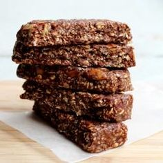 #232532 - Chocolate Granola Bars No Bake Recipe