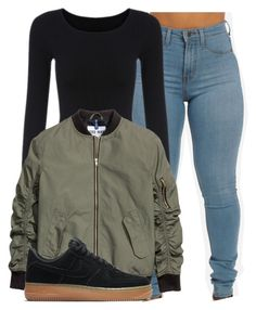 """Untitled #1241"" by shyannelove123 ❤ liked on Polyvore featuring NIKE"